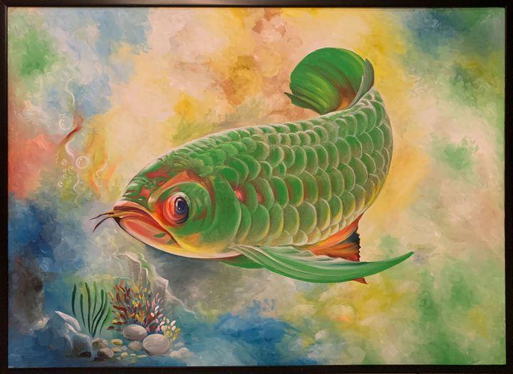 ARWANA GREEN - DIOSO ARTIST