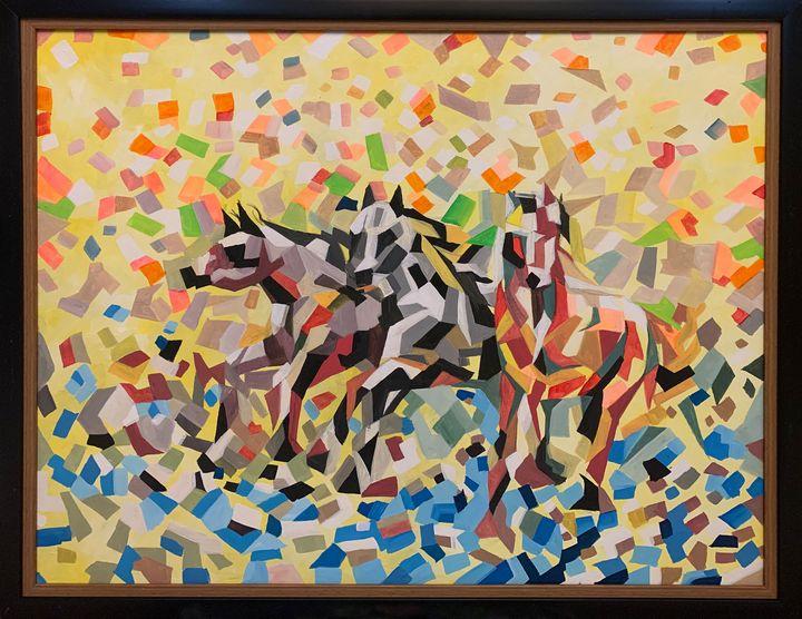 3 horses - DIOSO ARTIST