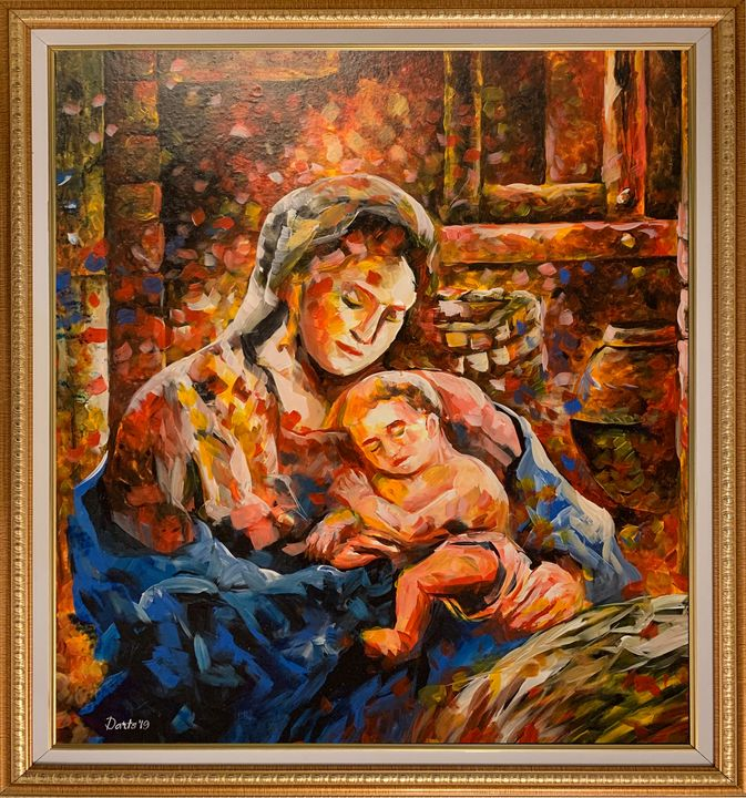 Mother and Child - DIOSO ARTIST