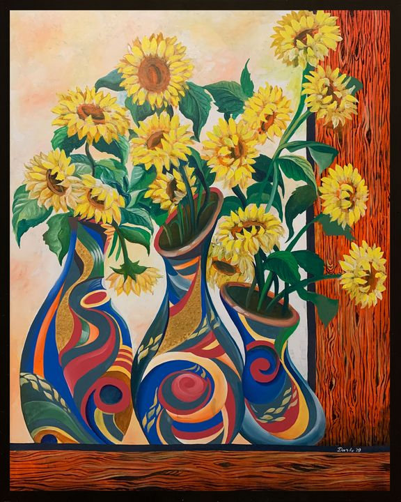 GOD the sunflower - DIOSO ARTIST