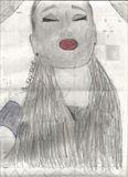 Original Ariana Grande Pencil Drawin