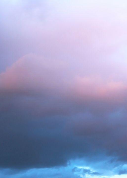 Blue Pink Clouds - Looly Elzayat