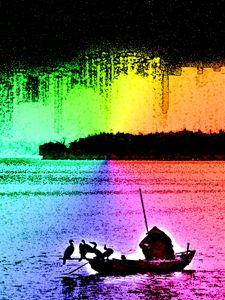 Multicolor Fisherman