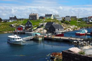 The harbour in Peggy's Cove