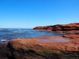 Red Rocks at Cape Chignecto