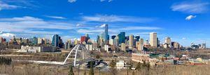 Panoramic Downtown Edmonton