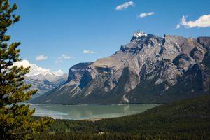 A Climb to a View in Banff