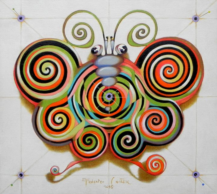 Psychotronic moth - federico cortese