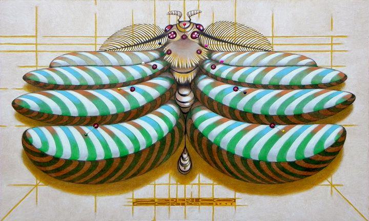 Fibonacci moth - federico cortese