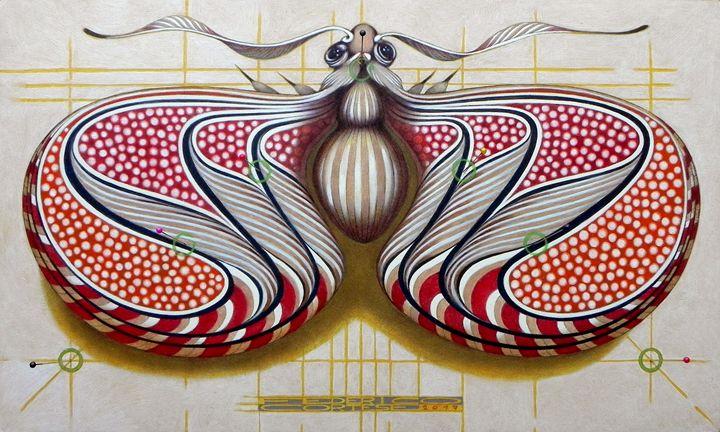 Fibonacci butterfly - federico cortese