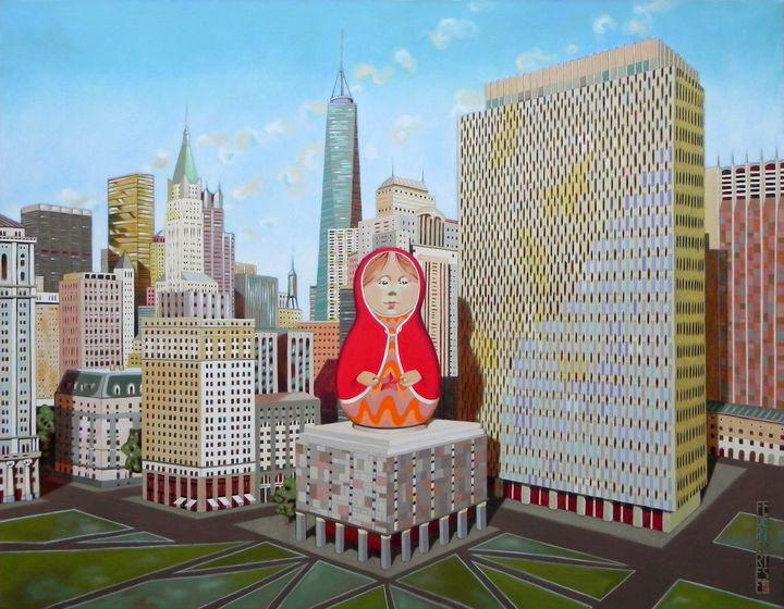 Civic Center in New York with Matrio - federico cortese