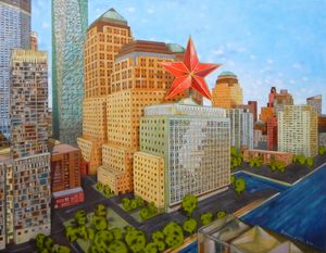 Red star in New York