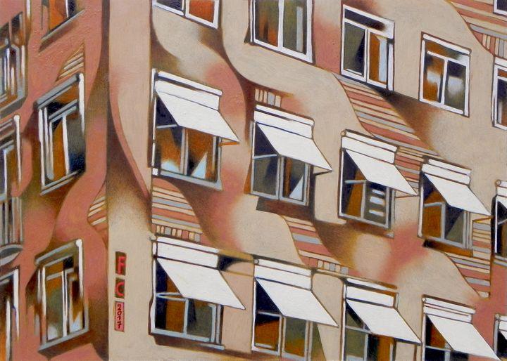 windows in Norreport, Copenaghen - federico cortese
