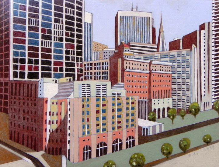Little view of San Francisco - federico cortese