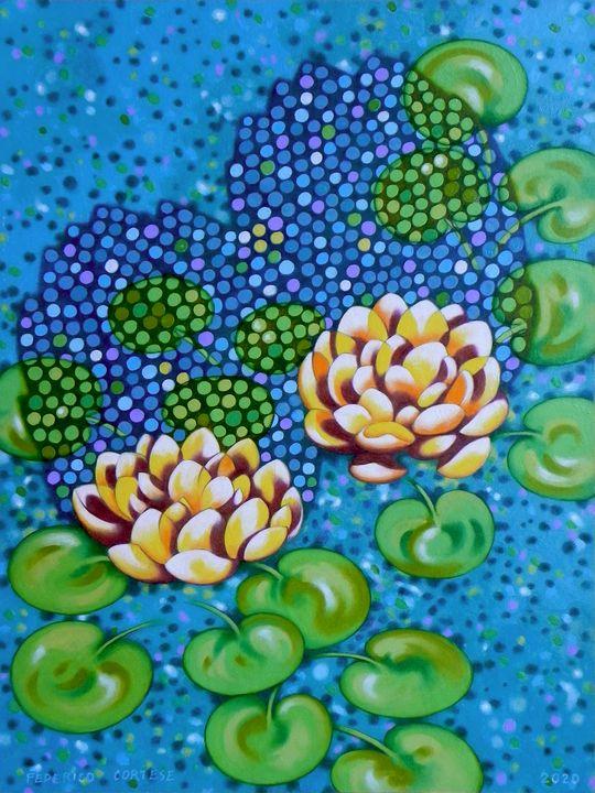Water lilies - federico cortese