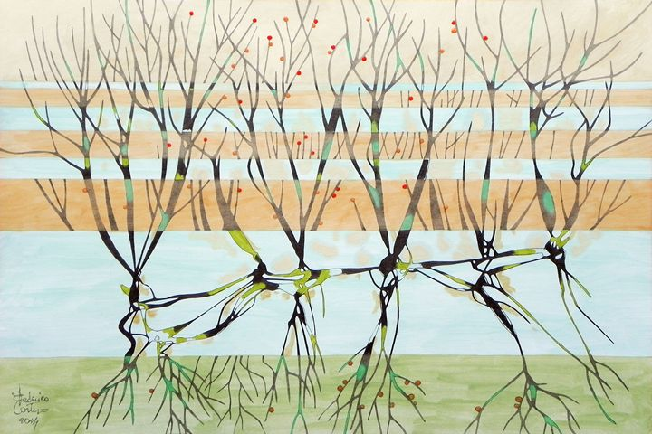 withered trees - federico cortese