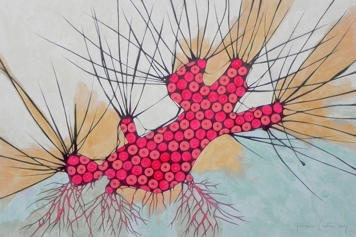 withered tree - ORIGINAL SOLD - federico cortese
