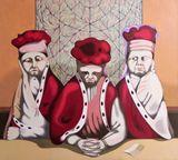 oil on canvas, 100 x 90 cm