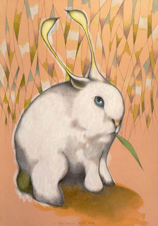 bunny alien - federico cortese