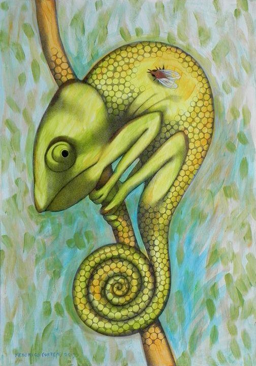 chameleon - federico cortese