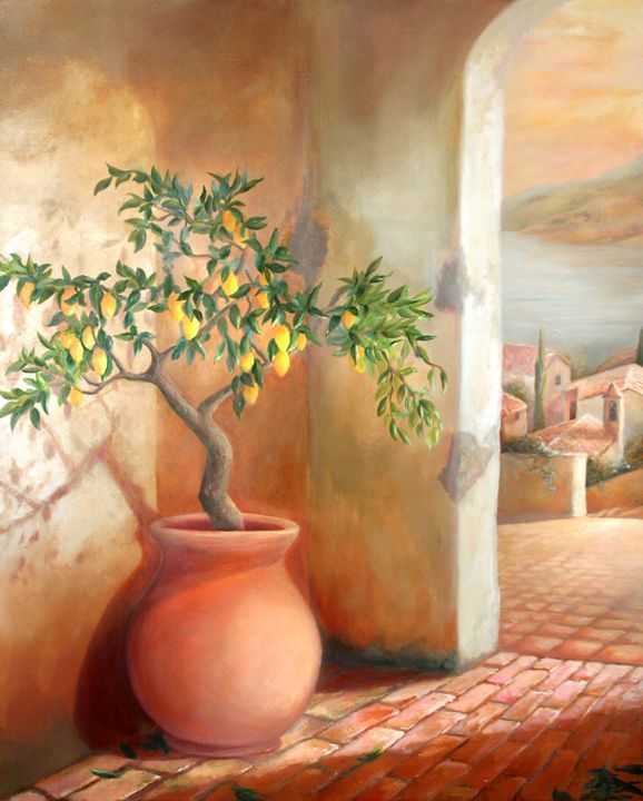 TUSCAN LEMON TREE - MICHAEL ROCK