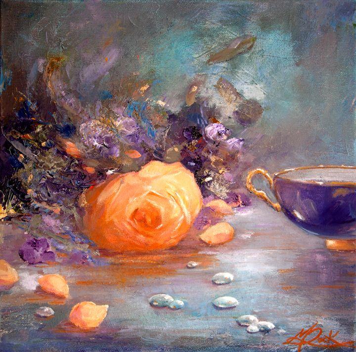 GARDEN FLOWERS - MICHAEL ROCK