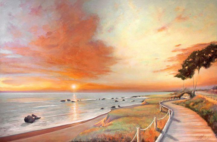 Moonstone Cambria Sunset - MICHAEL ROCK