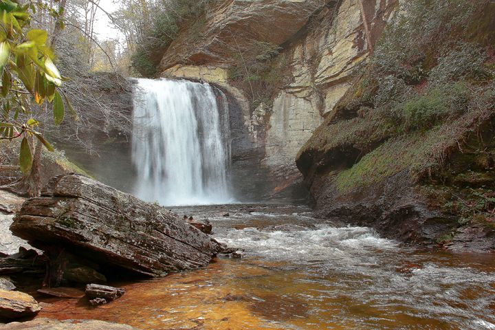 Mystical Waterfall - NiceWebb Photography