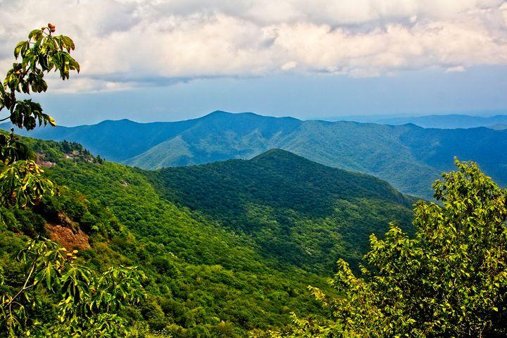 Blue Ridge Parkway View - NiceWebb Photography