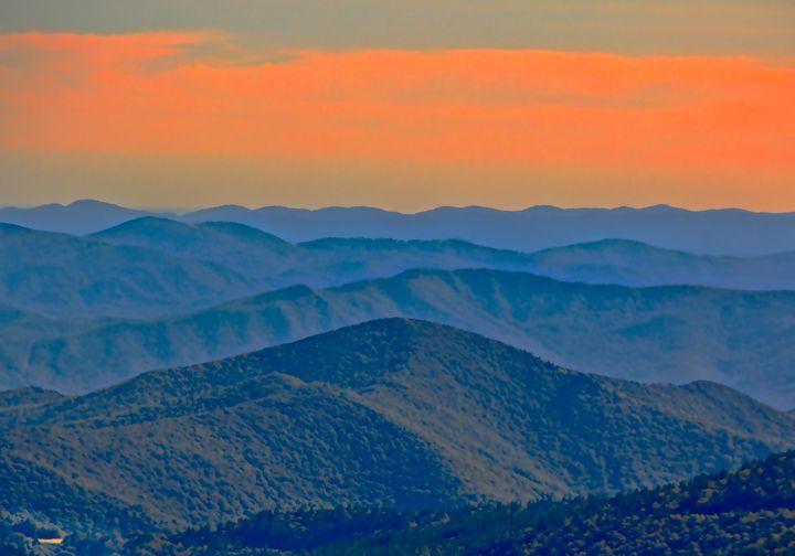 Mountains At Evening - NiceWebb Photography