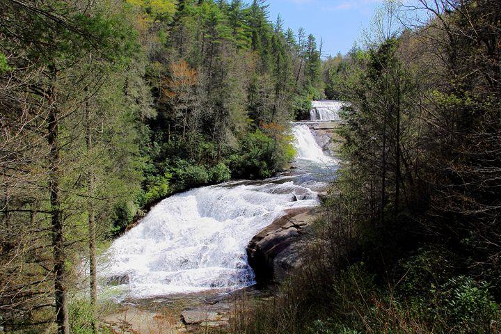 Triple Falls View - NiceWebb Photography