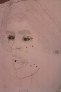 a picture i drew of justin beiber