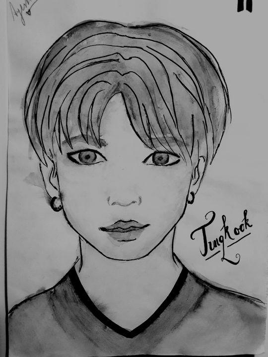 Bts Jungkook - drawings by me ♥♥♥