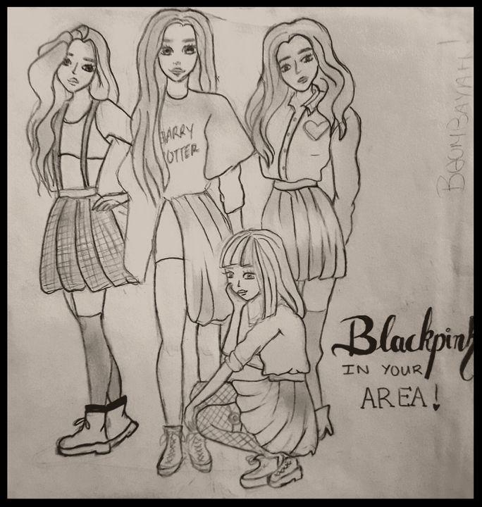 Blackpink - drawings by me ♥♥♥