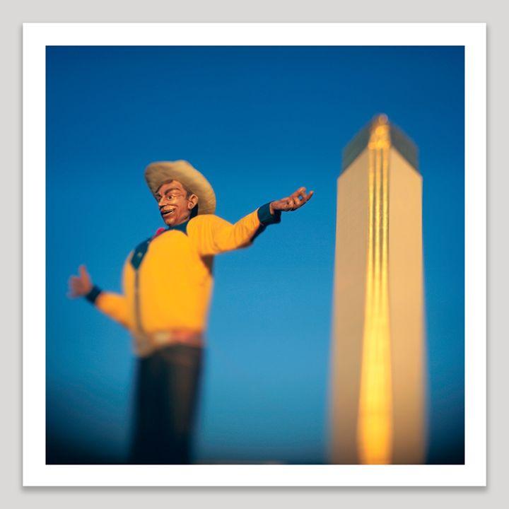 Big Tex - Dave Shafer Fine Art