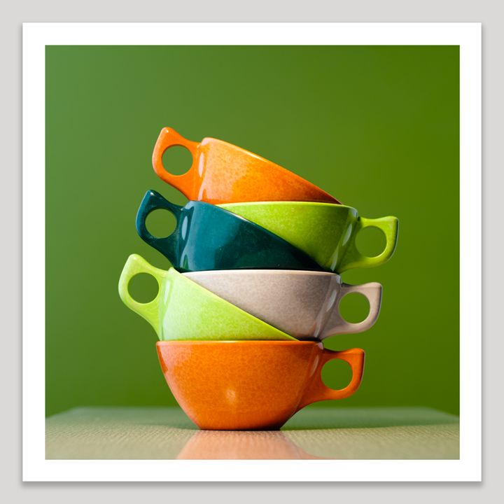Coffee Cups - Dave Shafer Fine Art