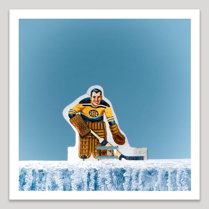 Tin Goalie - Dave Shafer Fine Art