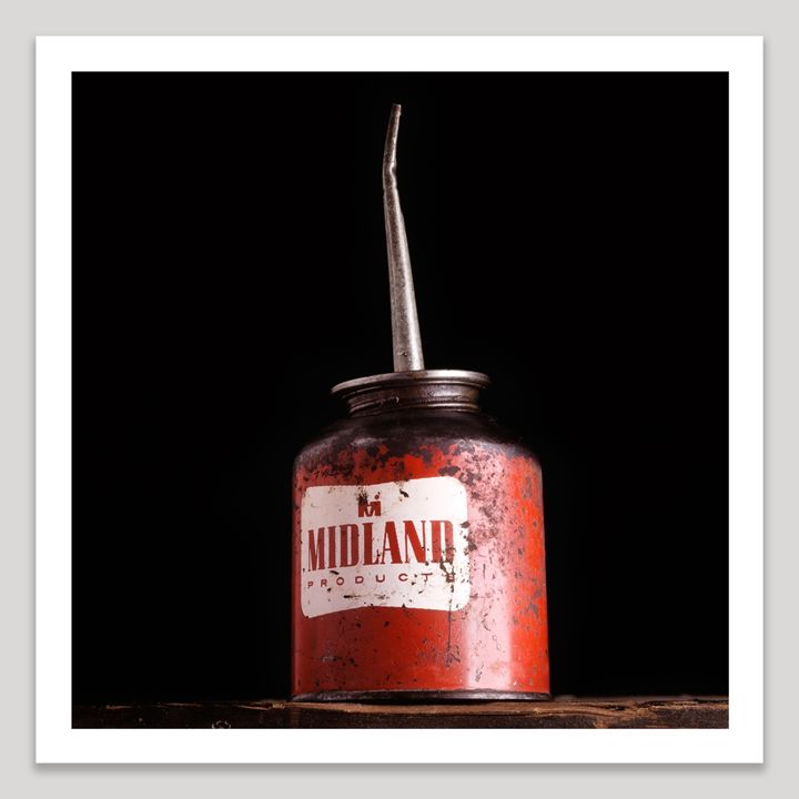 Midland Oil Can - Dave Shafer Fine Art