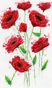Poppies - Happy Place Art