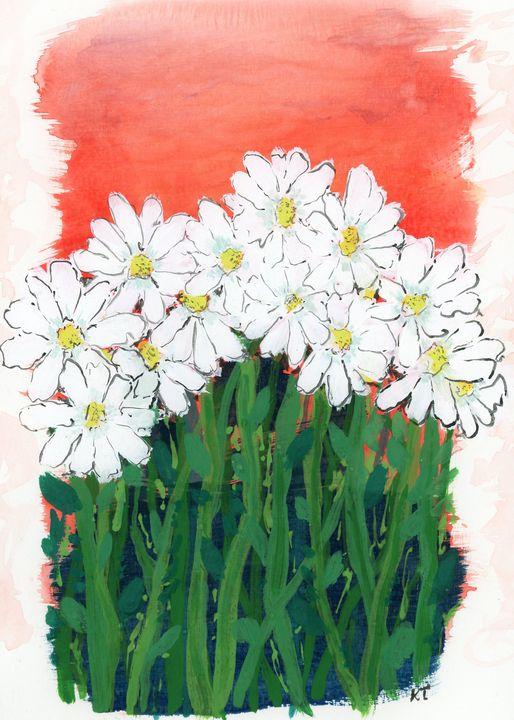 Daisy Field - Happy Place Art