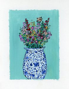 Delft Vase - Happy Place Art