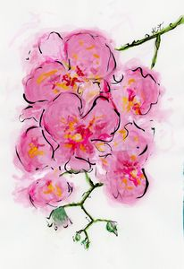 Orchid - Happy Place Art