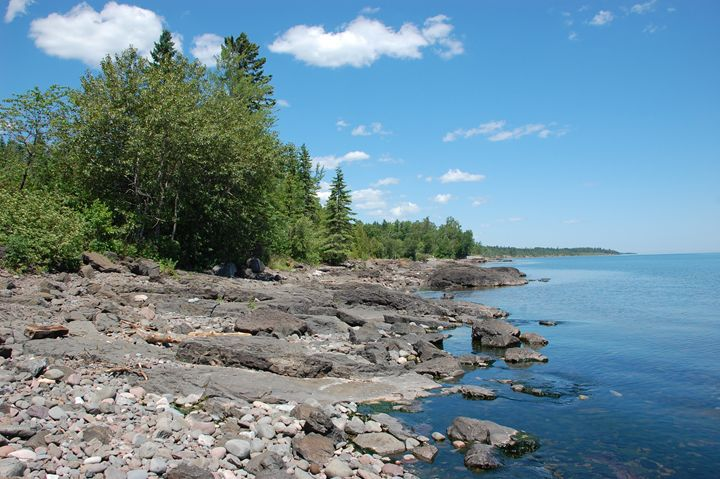 Shoreline of Superior - NorthShoreSDT