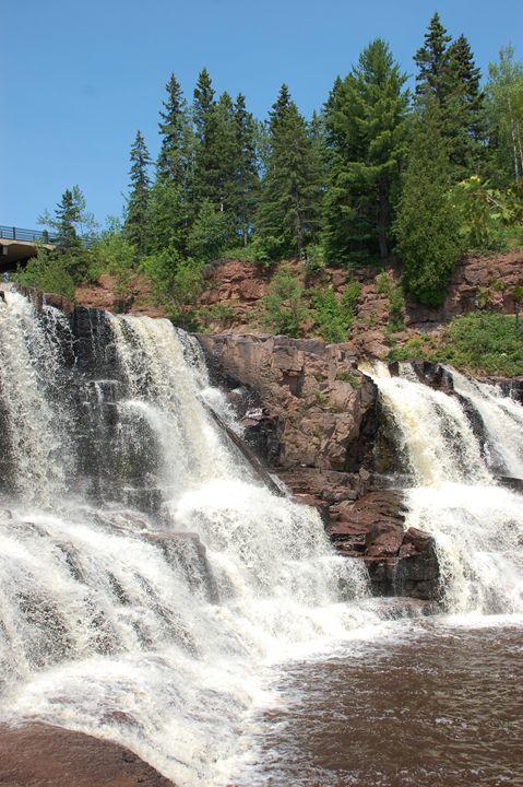 Gooseberry Falls in Minnesota - NorthShoreSDT