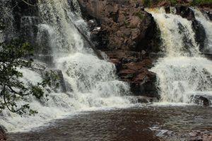 Gooseberry Falls Minnesota