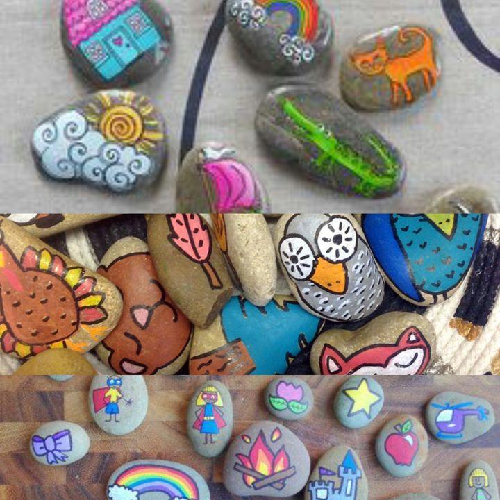 story stones - Believe