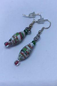 Christmas earrings - Bluebirdbeadsbysue