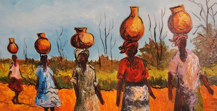 Water Bearers - African Treasures