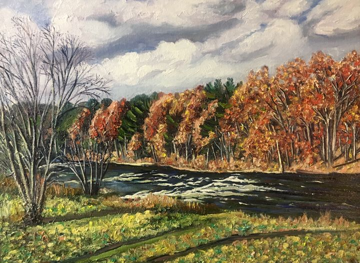 Autumn View-Westfield River - Richard Nowak Fine Art