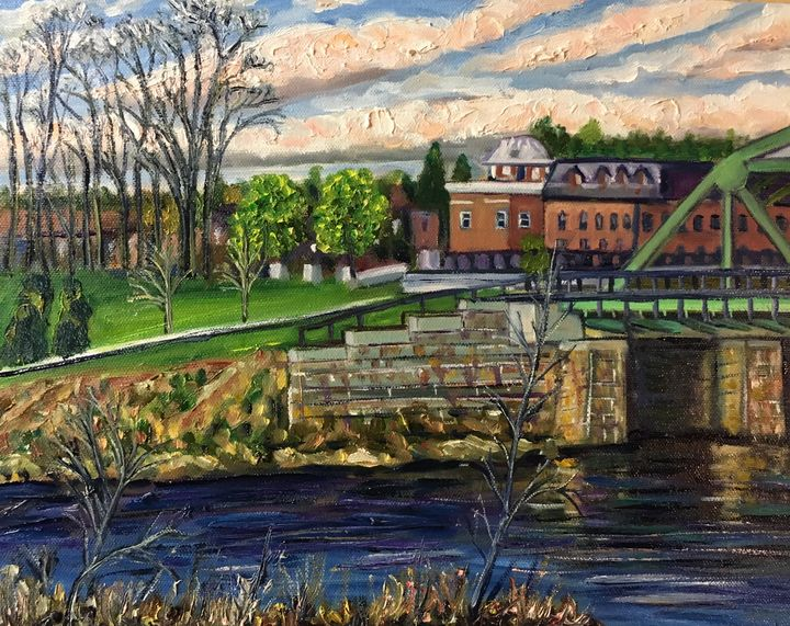 Westfield River-Toward Evening - Richard Nowak Fine Art